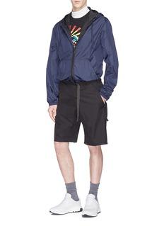Stella McCartney 'Percy' belted shorts