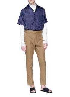 Stella McCartney 'Pax' buckled waistband pants