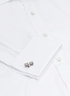 Tateossian 'Lucky Me' silver cufflinks