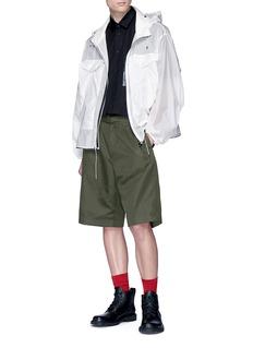 OAMC 'Voodoo' contrast pocket short sleeve shirt