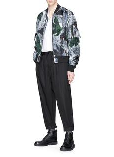 OAMC Floral print silk bomber jacket