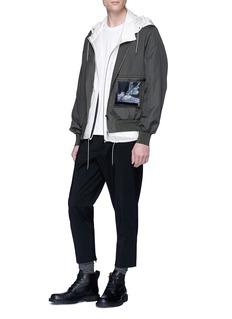 OAMC 印花条纹边饰纯棉T恤