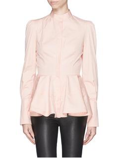 ALEXANDER MCQUEENRuffle peplum blouse
