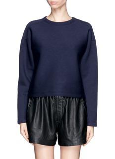 T BY ALEXANDER WANGScuba jersey sweatshirt