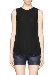 THEORY 'Bringam 'silk georgette tank top