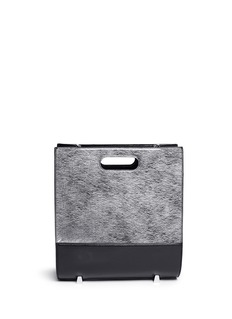ALEXANDER WANG 'Chastity' mirror leather shoulder bag