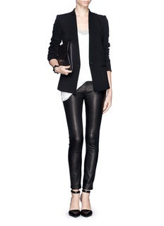 HELMUT LANG Inverted collar blazer