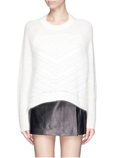 HELMUT LANG'Plov' mohair blend sweater