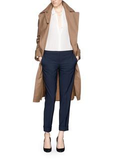 THEORY'Jin' fold cuff pants