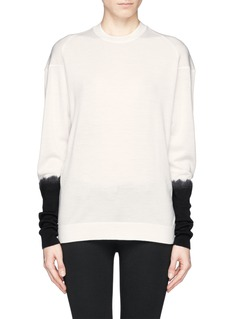 3.1 PHILLIP LIM Contrast sleeve sweater
