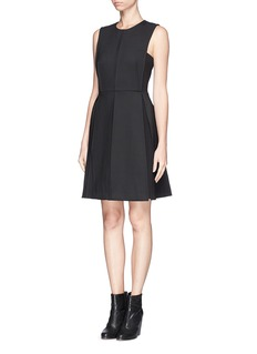 RAG & BONE 'Lea' panel cut flap dress