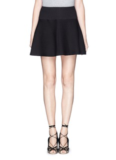 THEORY 'Sione B' jacquard flare skirt