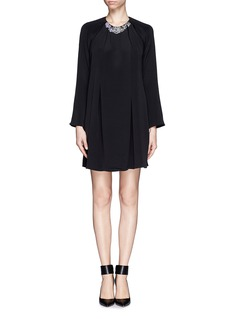 3.1 PHILLIP LIM Jewel neckline shift dress
