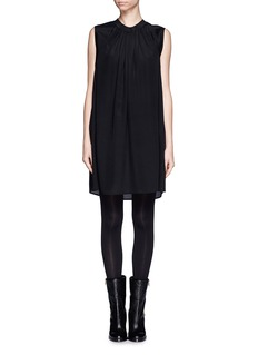 3.1 PHILLIP LIM Gathered silk shift dress