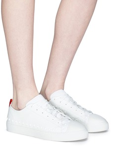 Moncler 'Linda' stud leather sneakers
