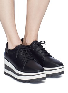 Stella McCartney 'Sneak-Elyse' faux leather platform Derbies