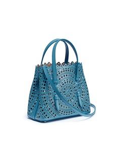 Alaïa 'New Vienne' mini geometric lasercut leather tote