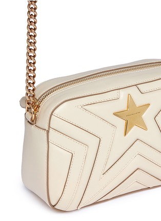 - Stella McCartney - 'Stella Star' quilted faux leather crossbody bag