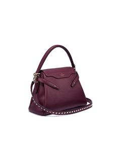Valentino 'Joylock' stud strap leather satchel bag