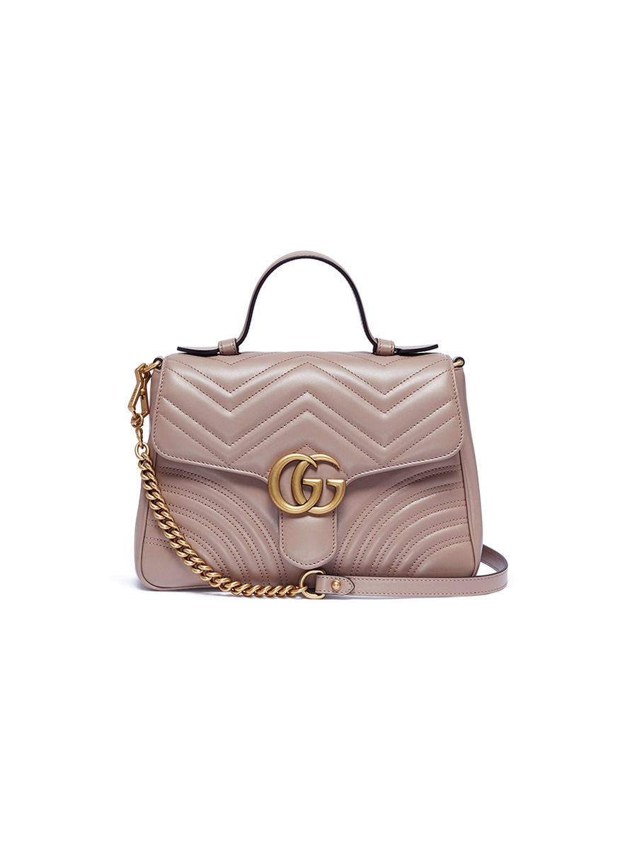 fc628647168 Main View - Click To Enlarge - Gucci -  GG Marmont  small matelassé leather