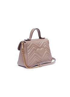 Gucci 'GG Marmont' small matelassé leather top handle bag