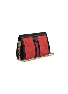 Gucci 'Ophidia' small suede shoulder bag