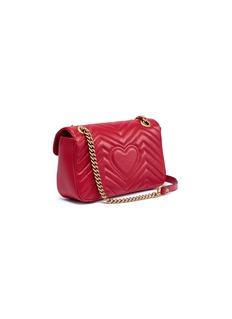 Gucci 'GG Marmont' small matelassé leather crossbody bag