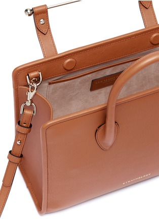 Detail View - Click To Enlarge - Strathberry - The Strathberry Midi' leather tote