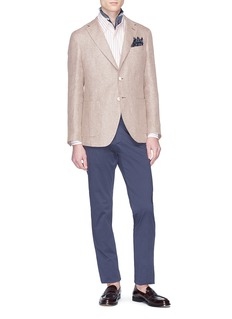 Altea Linen-virgin wool soft blazer