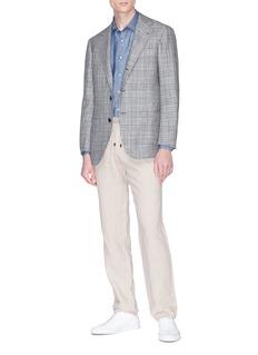Altea Linen-cotton shirt