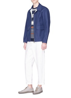 Tomorrowland Cargo pocket twill shirt jacket