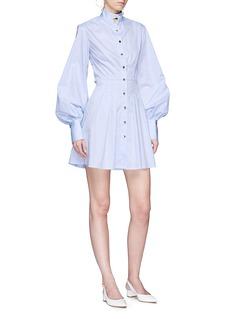 ANNA QUAN 'Lucy' bishop sleeve shirt dress