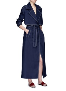 ANNA QUAN 'Inez' belted oversized trench coat