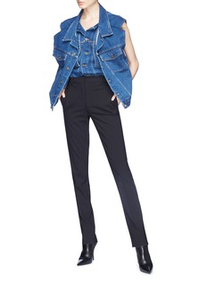 Y/Project Double layered front denim vest