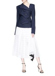 Monse Twist wool blend blazer