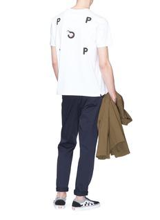 Pop Trading Company 'Pop Olive' logo print T-shirt