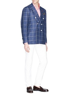 ISAIA Check jacquard shirt