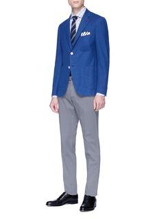 ISAIA 'Gregory' piqué soft blazer