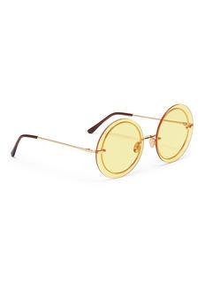 Spektre 'Narcisco' metal round sunglasses