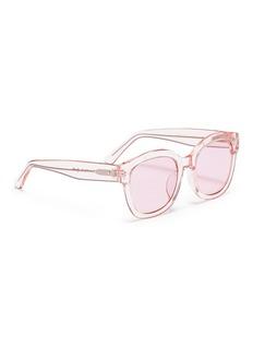 Spektre 'Bellucci' acetate square sunglasses