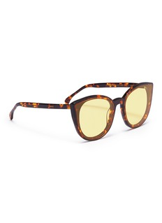Spektre 'Denora' tortoiseshell acetate cat eye sunglasses