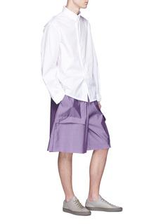 Pronounce Patch pocket shorts