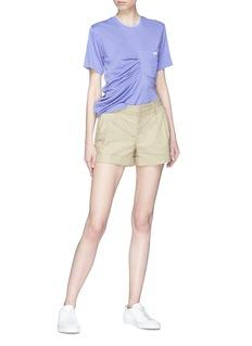 SIRLOIN Pocket Bukko褶裥设计珠地布T恤