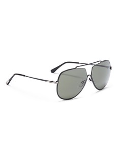 TOM FORD 'Chase' metal aviator sunglasses