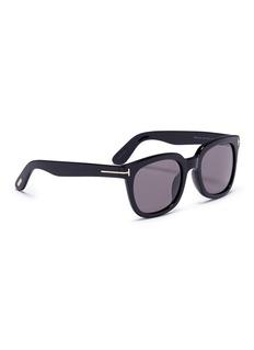 TOM FORD 'Classic' acetate square sunglasses