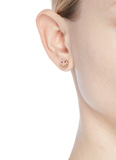 Ruifier 'Smitten' 18k rose gold vermeil stud earrings
