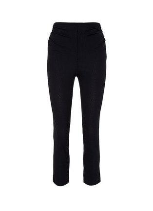 Main View - Click To Enlarge - Jacquemus - 'Le Corsaire' ruched cropped suiting pants