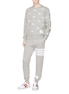 Thom Browne Hector embroidered sweatshirt