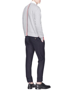 Thom Browne Stripe trim sweatshirt