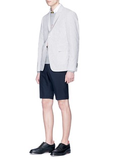 Thom Browne Stripe cotton seersucker blazer